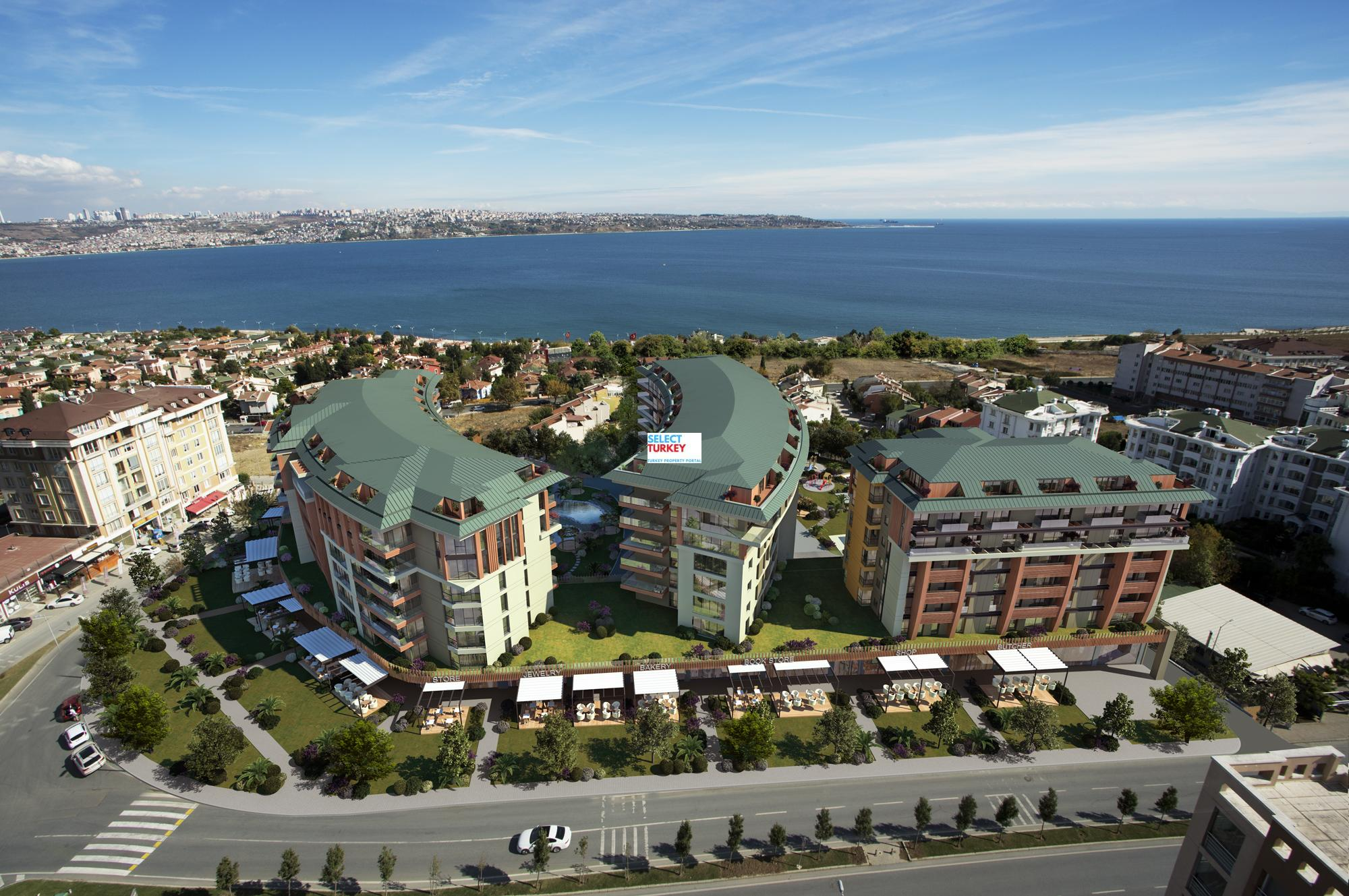 istanbul sea view property