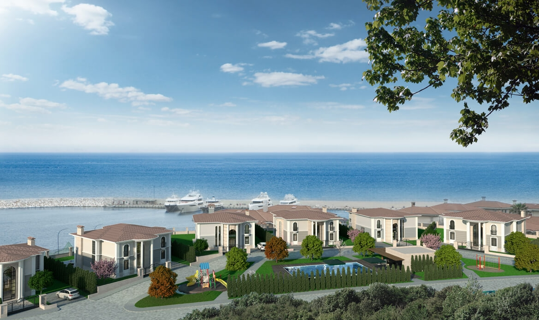 istanbul sea view villa